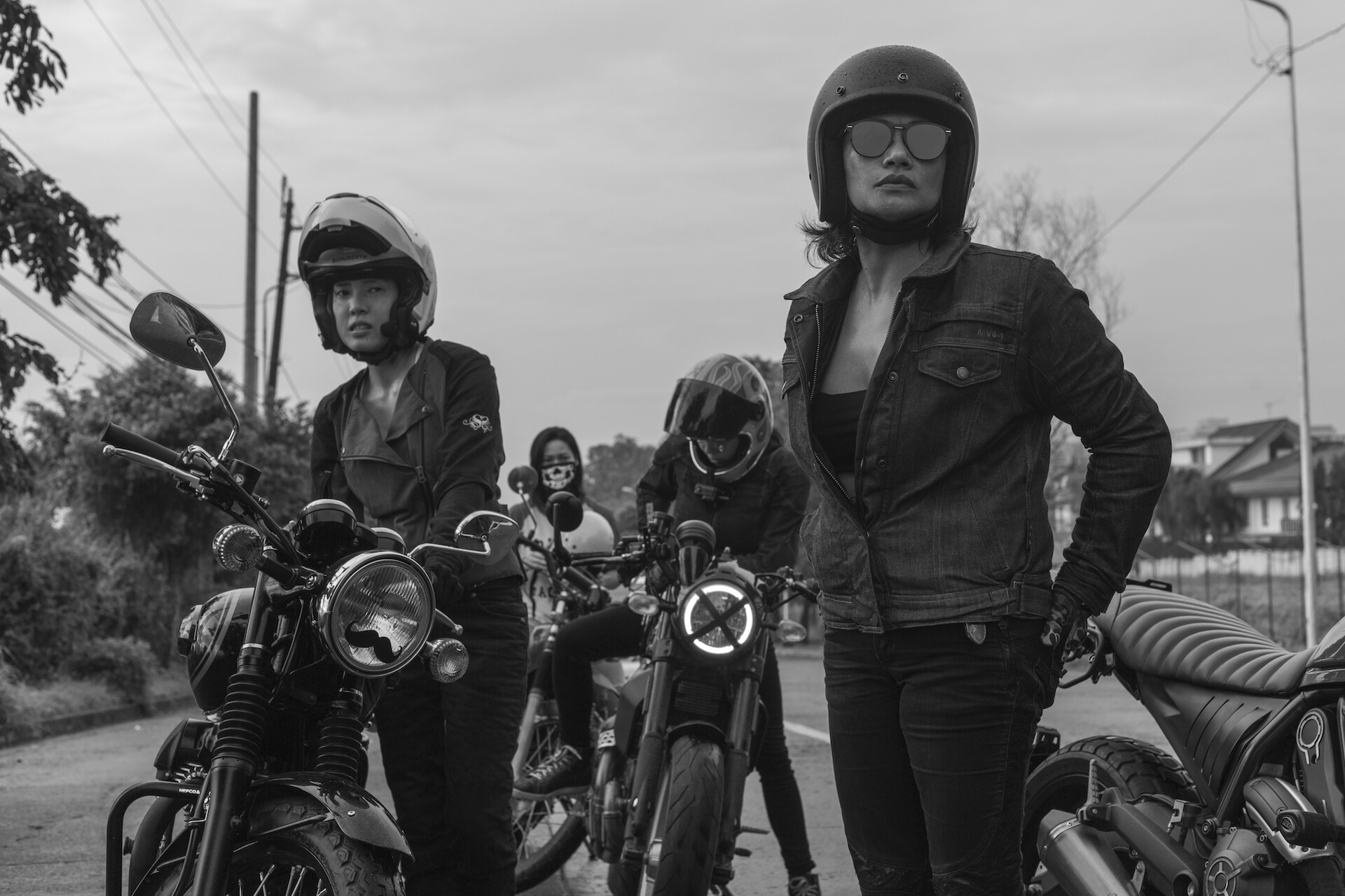 The Litas break motorbike stereotypes and show us how they ride.