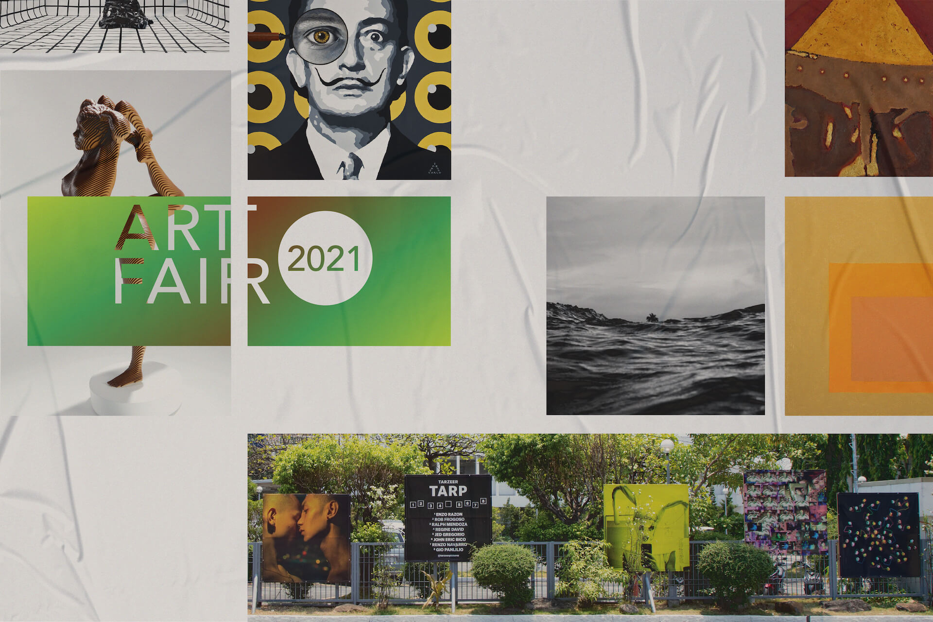 Art Fair's gone digital, but these artists are still making space for print
