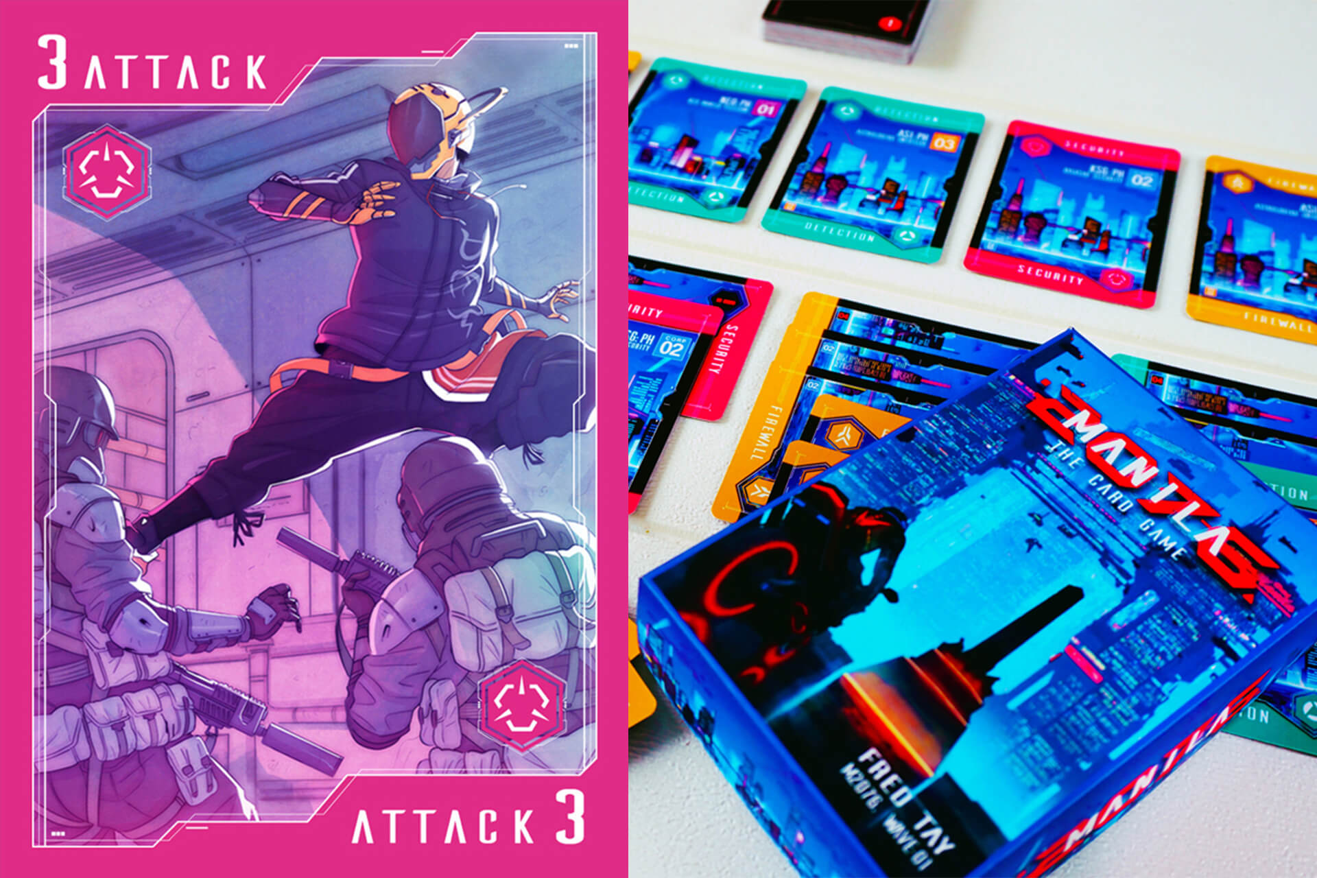 Manila goes cyberpunk in this locally made tabletop game