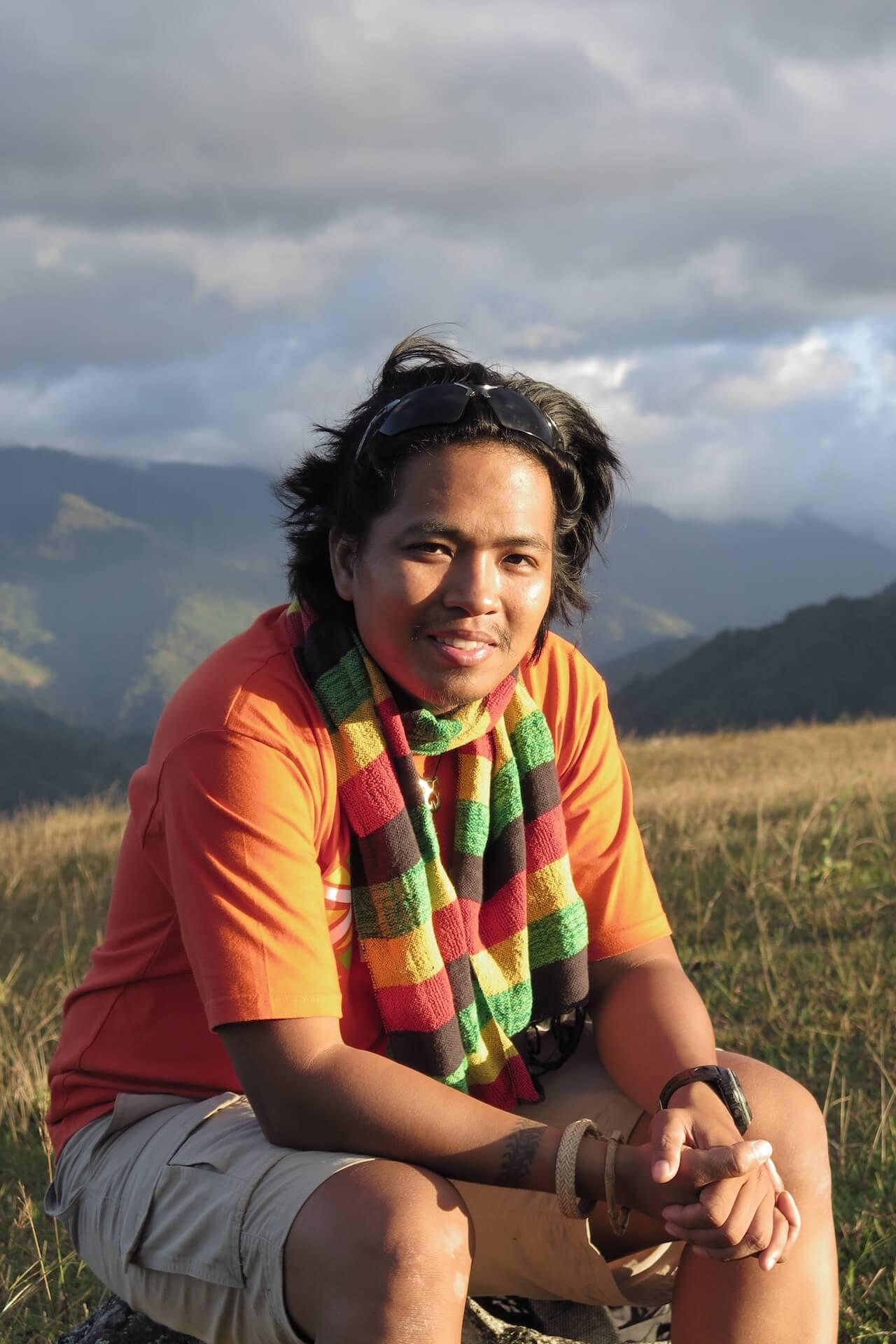 Lester Valle, director of Walang Rape Sa Bontok