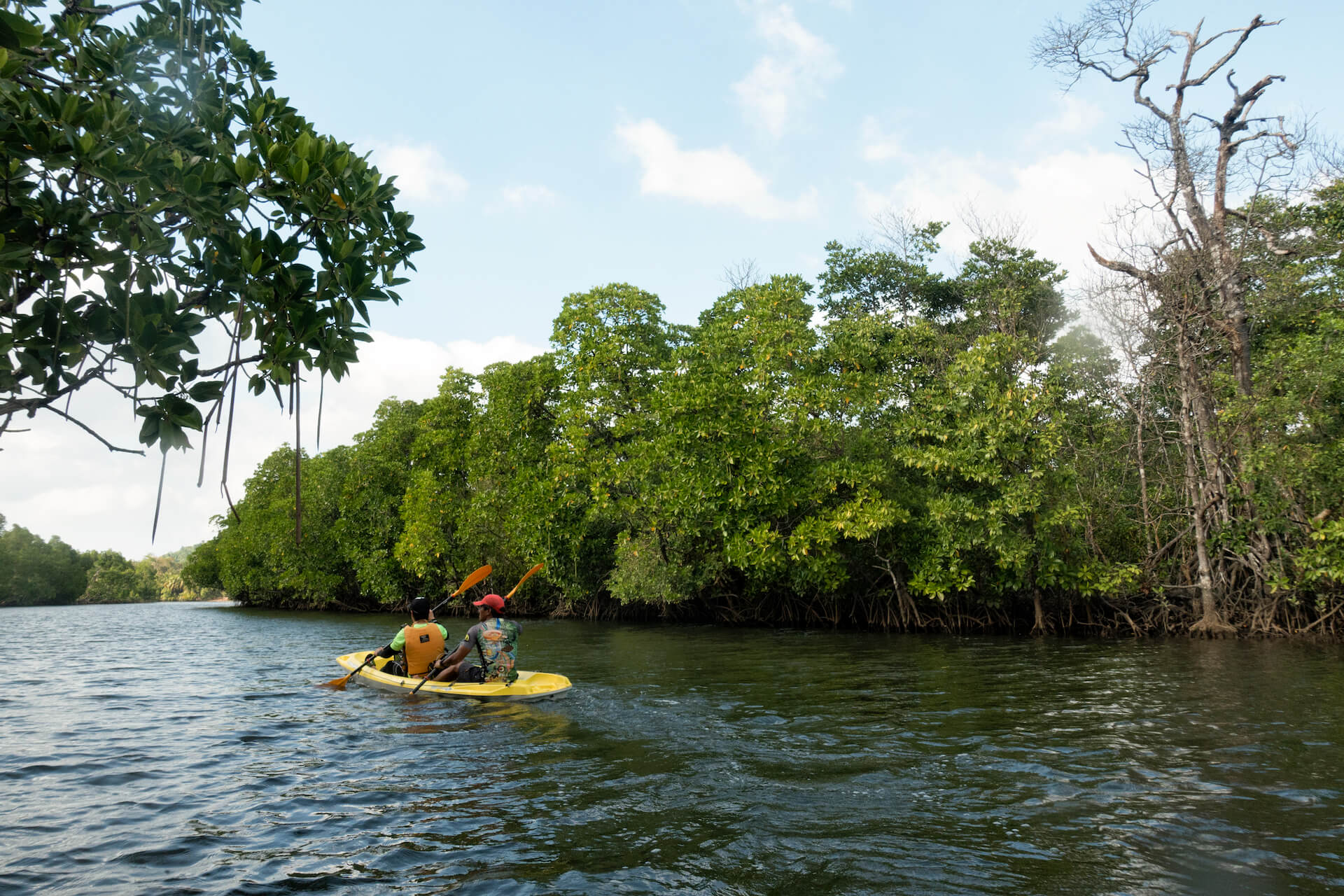 Kayaking in Decalachao