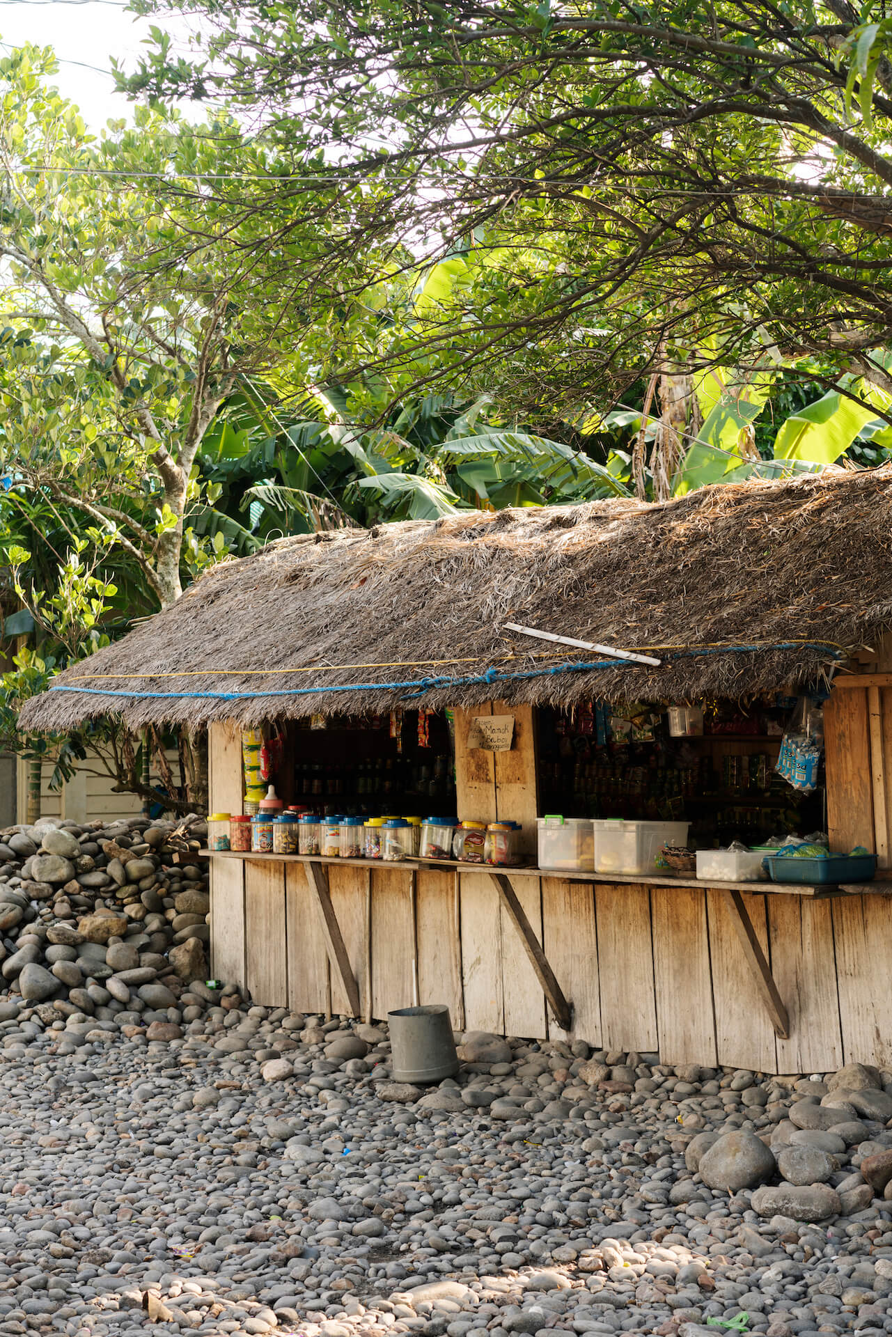 A local shack in Babuyan Group of Islands
