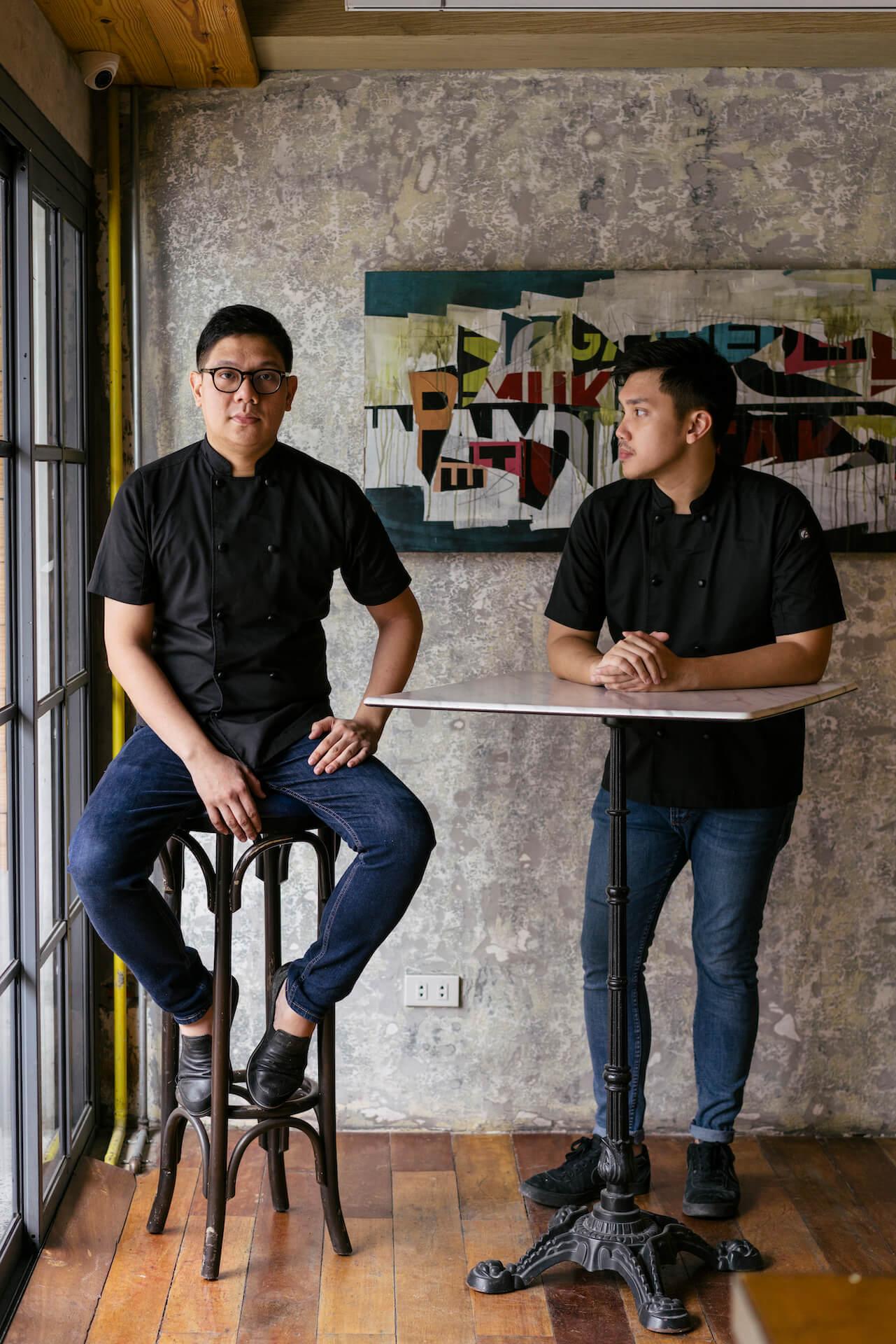 RJRamos and Fonso Sotero of Lampara