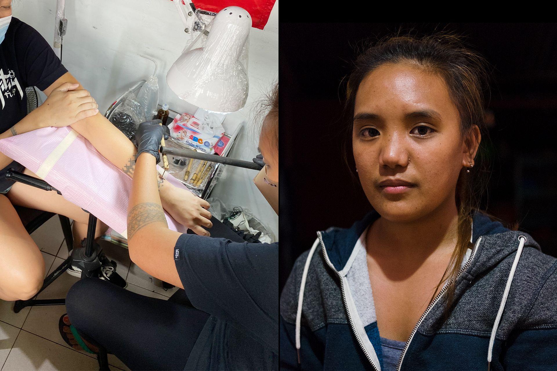 Kalinga's Grace Palicas returns for more Manila tattoo sessions