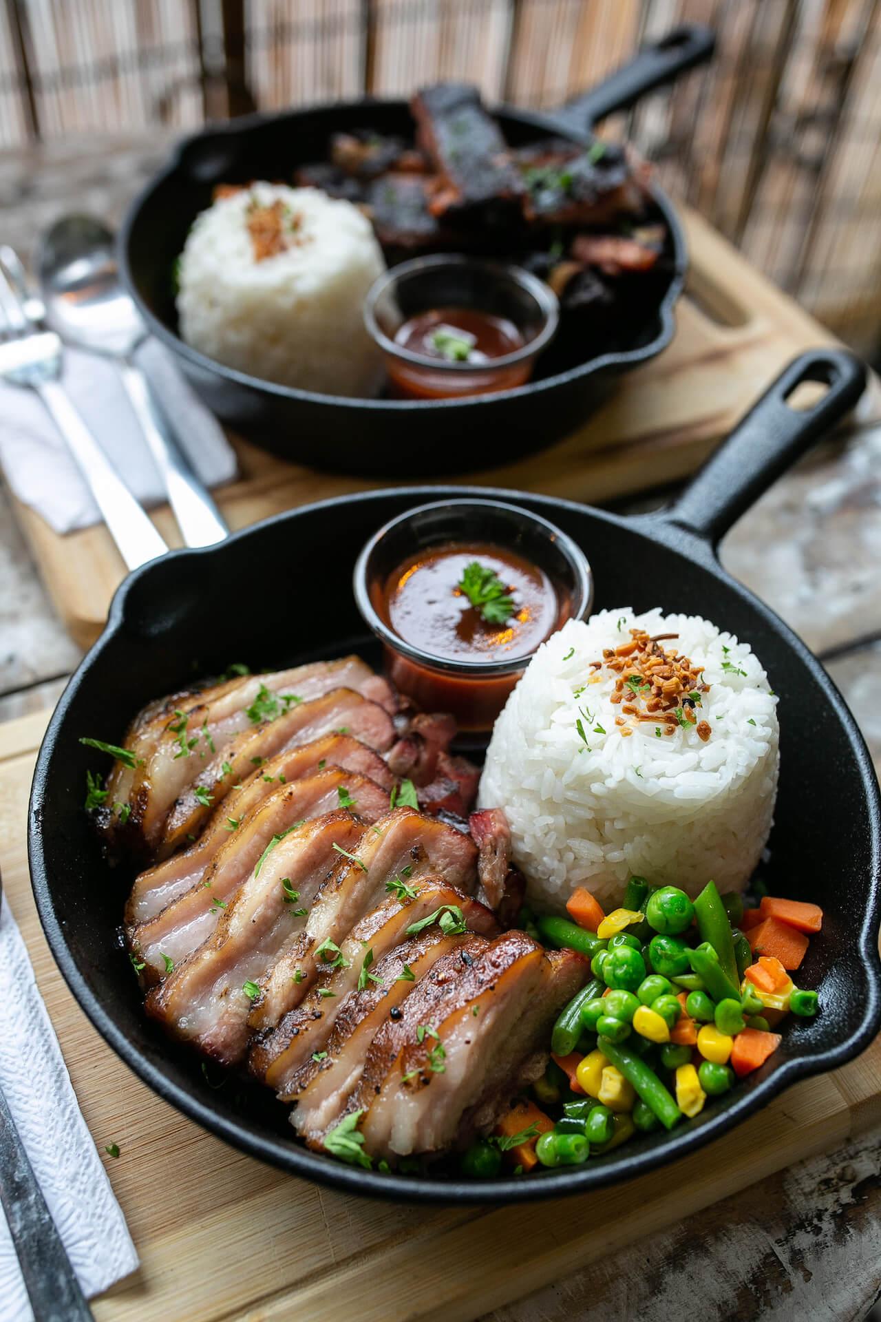 Viajero cafe's roasted pork belly at Cagayan de Oro city