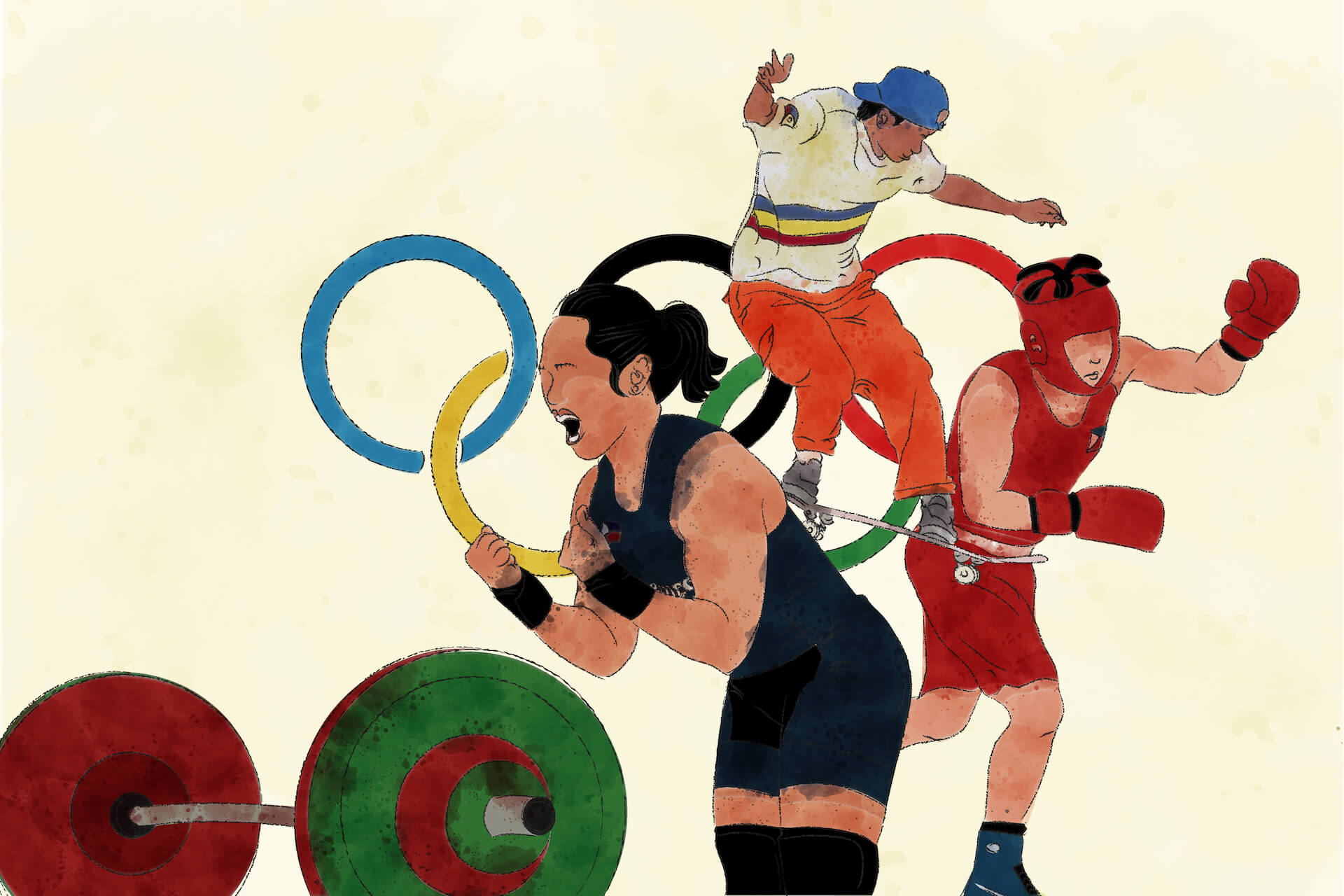 Our resident sports fan makes a toast to the journeys of Hidilyn Diaz, Margielyn Didal, and Nesthy Petecio—and a plea for supporting Filipino athletes year-round.