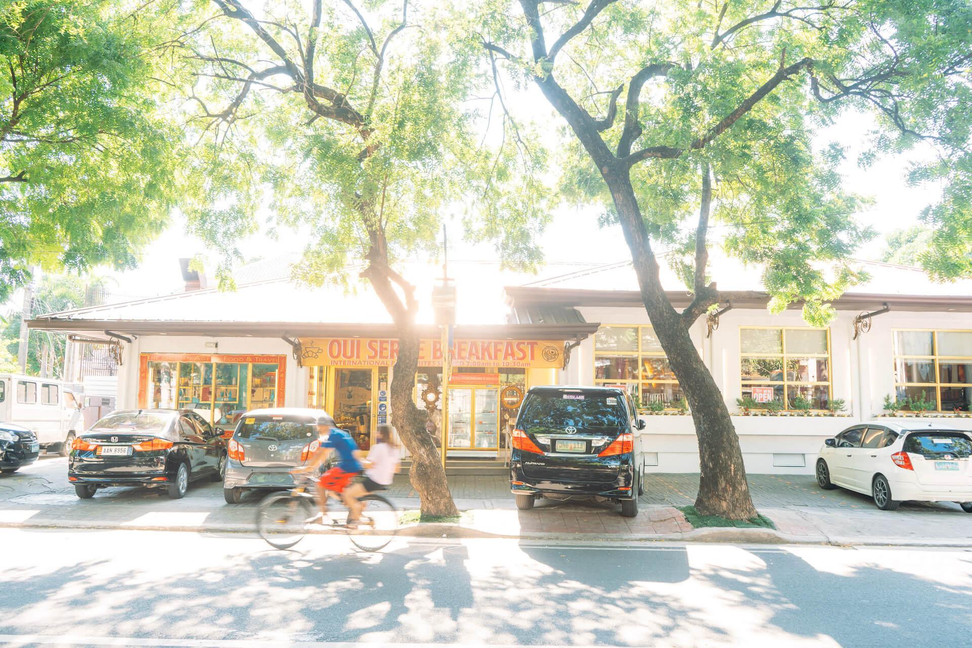 Exterior of Tito Chef along Presidents Avenue