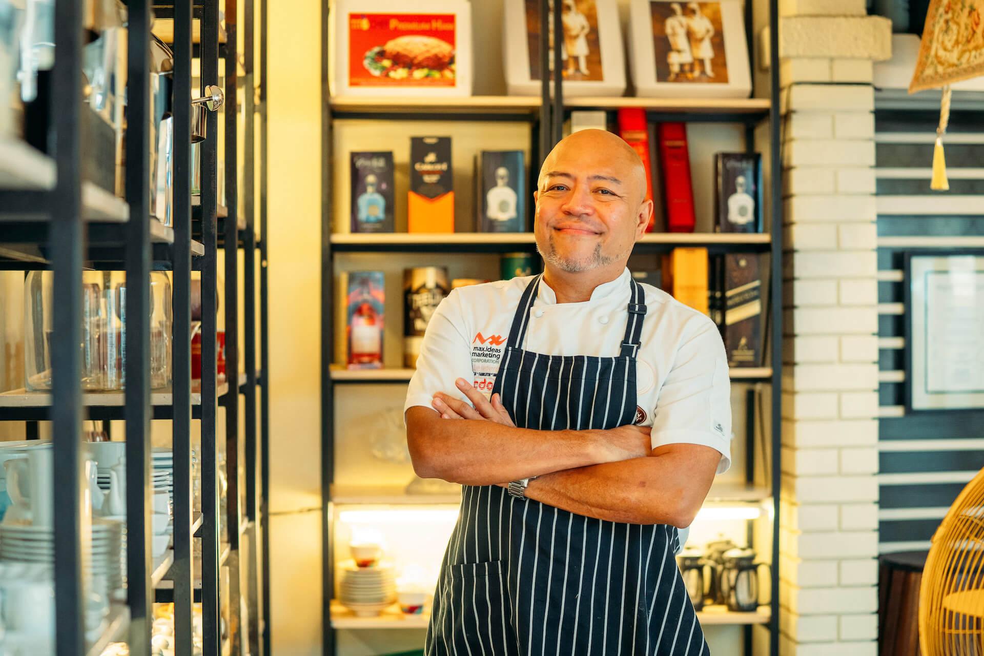 Menoy Gimenez of Tito Chef Restaurant Parañaque