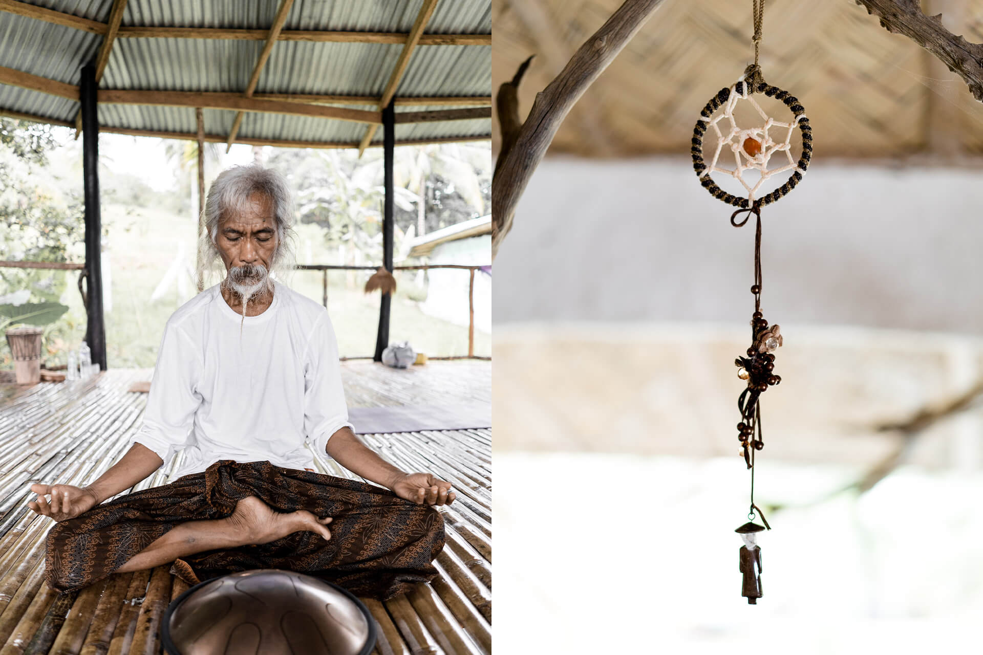 At Bahay Kalipay, people come to meditate, to heal intuitively, and to save the planet through good vibes.