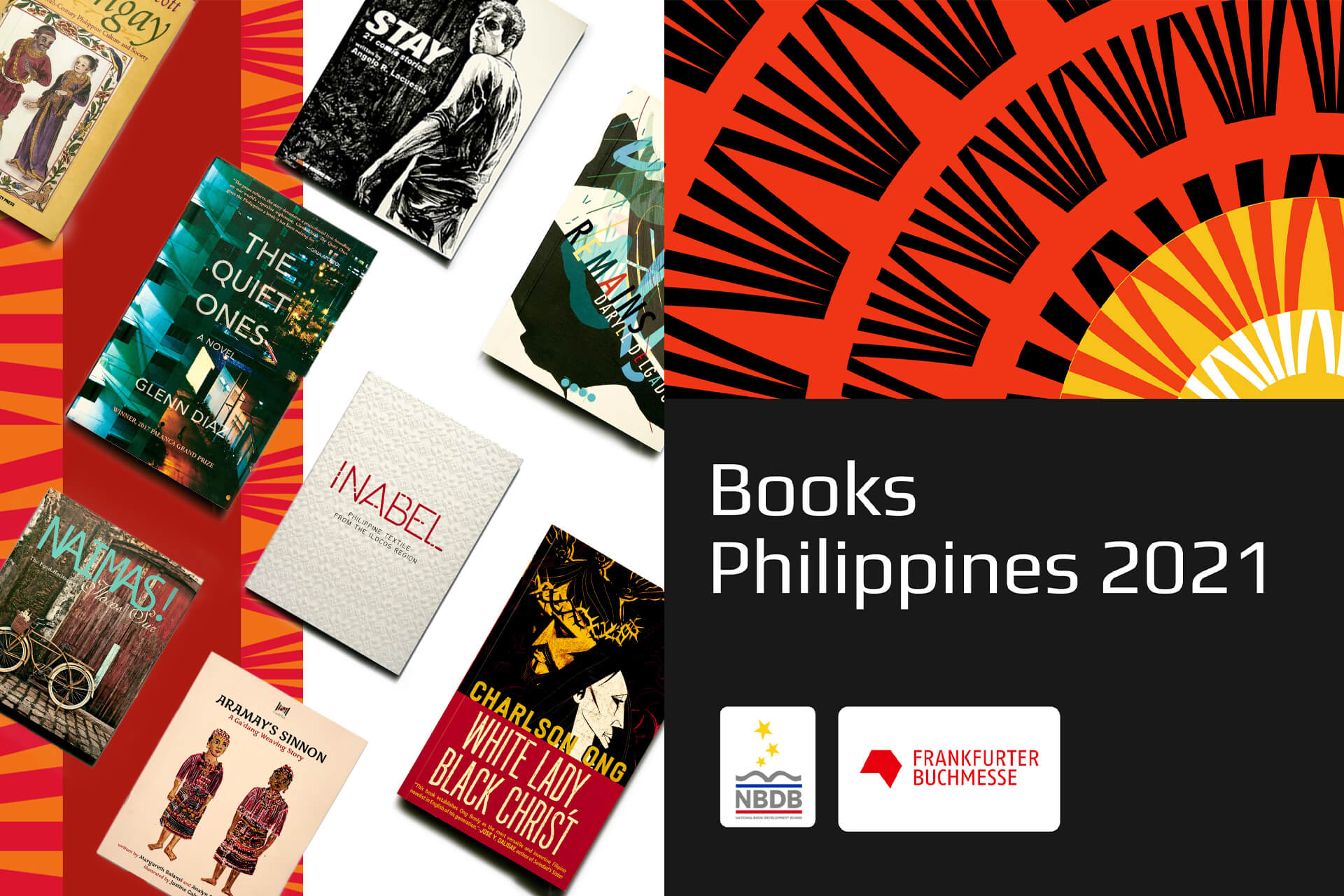 NBDB Philippines' book collection highlights the diversity of Filipino stories, from uncommon mythology to contemporary culture.