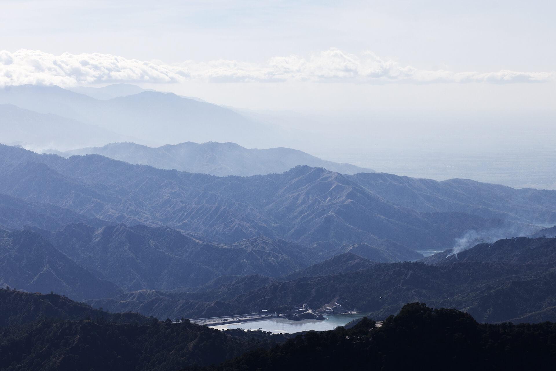 Benguet, Baguio, Mountain Province view
