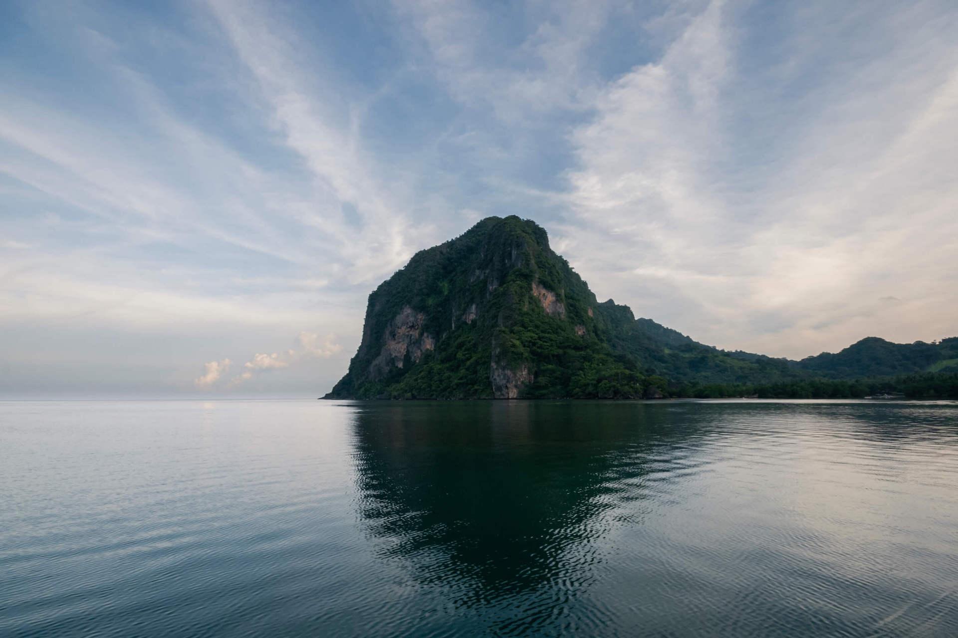 Coron island sea view. Photo by Katherine Jack