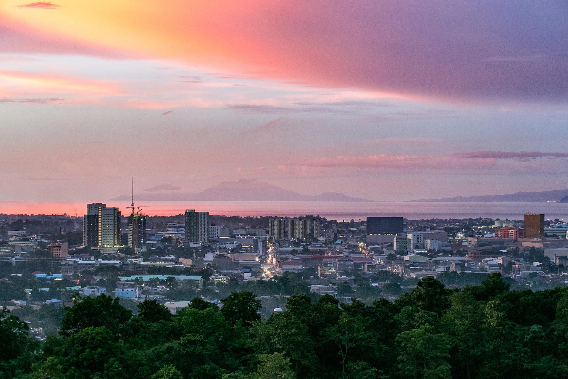 Sunset view of Cagayan de Oro city. Photo by Earl Ryan Janubas