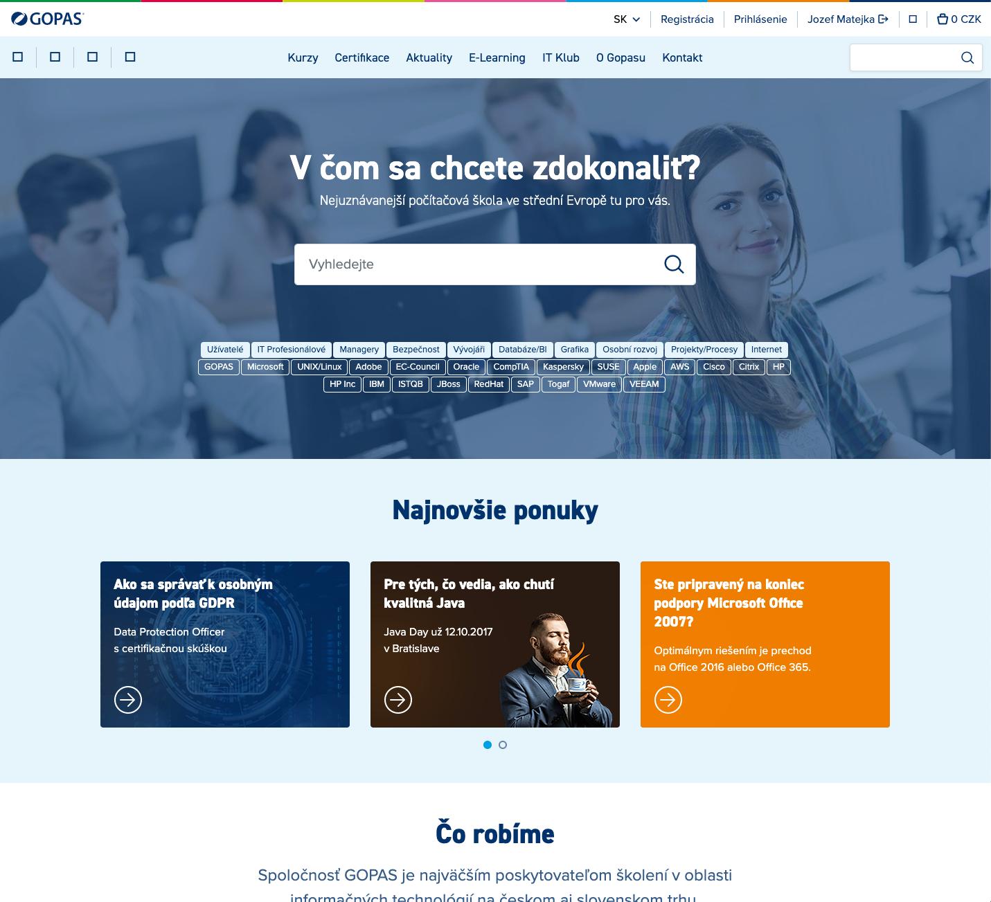 Gopas Web - CMS Nopcommerce