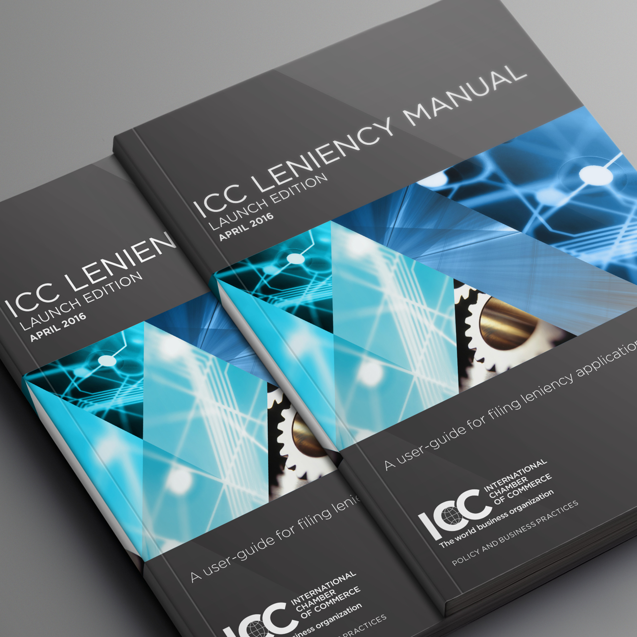 ICC leniency manual brochure infographic