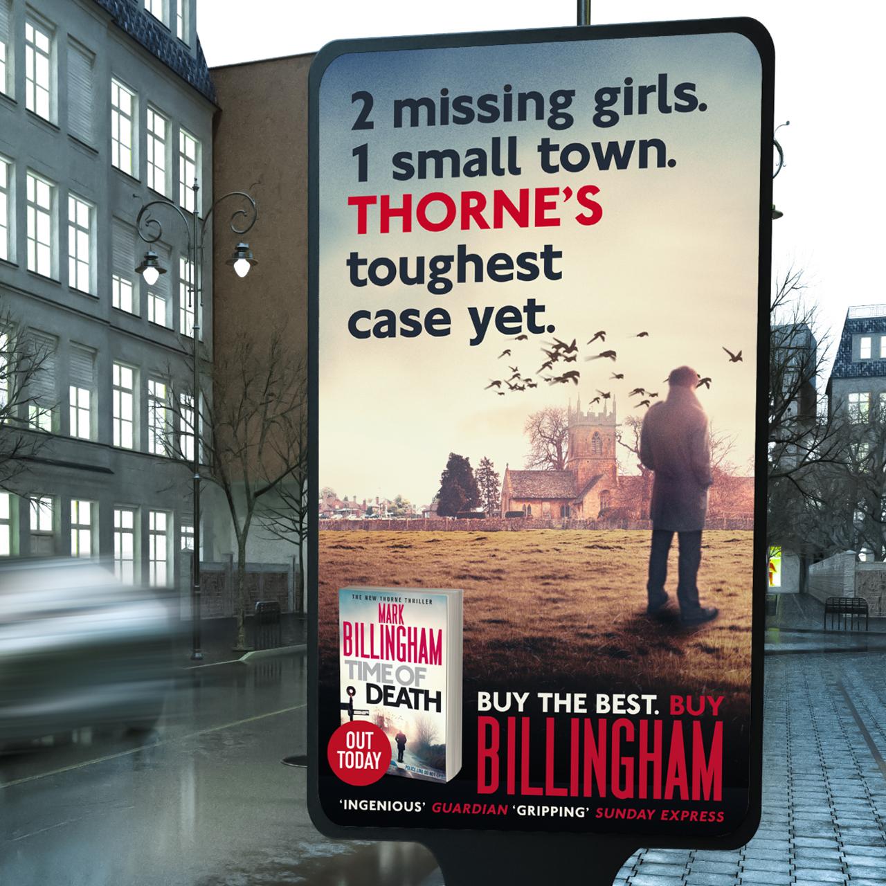 mark billingham time of death animation advert