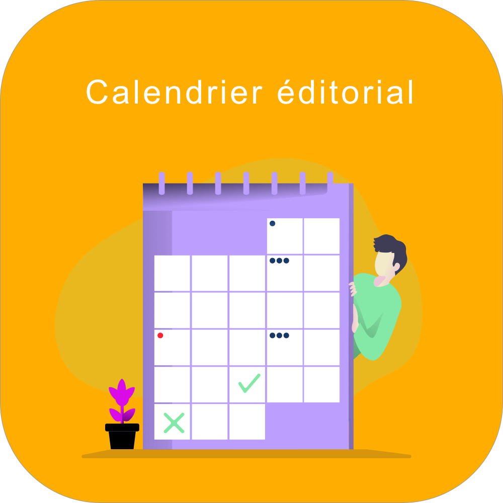 Creer calendrier editorial