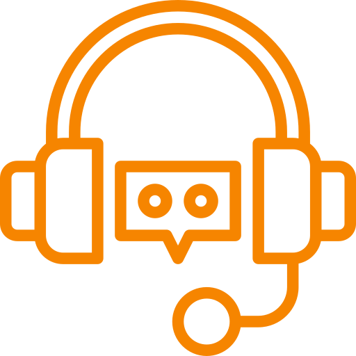 webinar audio and video icon