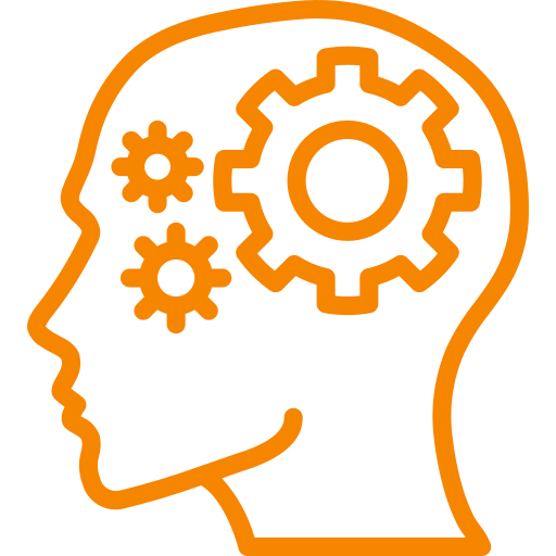 brain knowledge icon