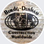 burdg dunham construction logo