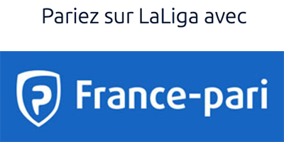 Pariez sur LaLiga avec France pari