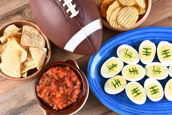 football watch party snacks