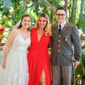 Raquel de Campos e Noivos