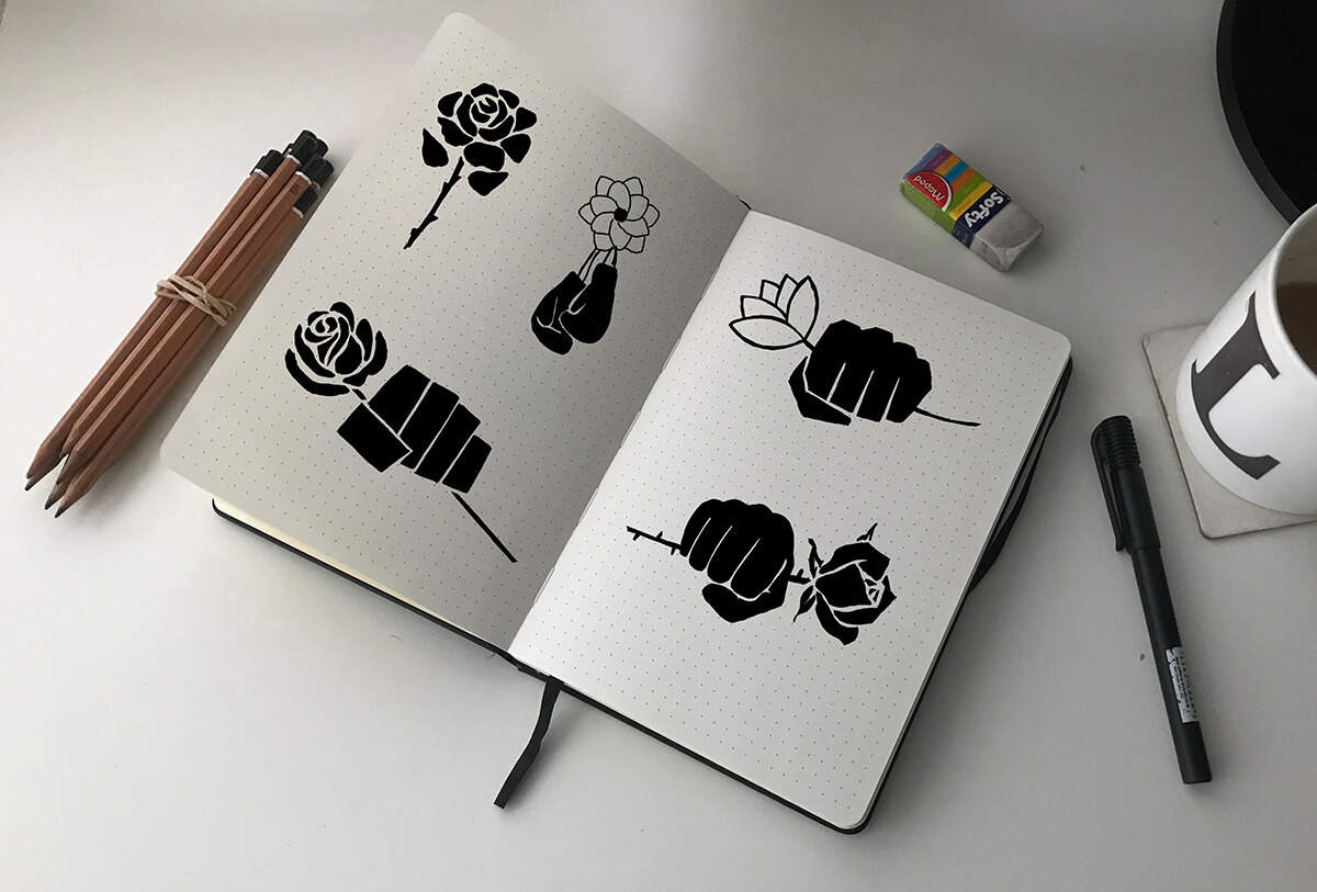 sketch book ideas