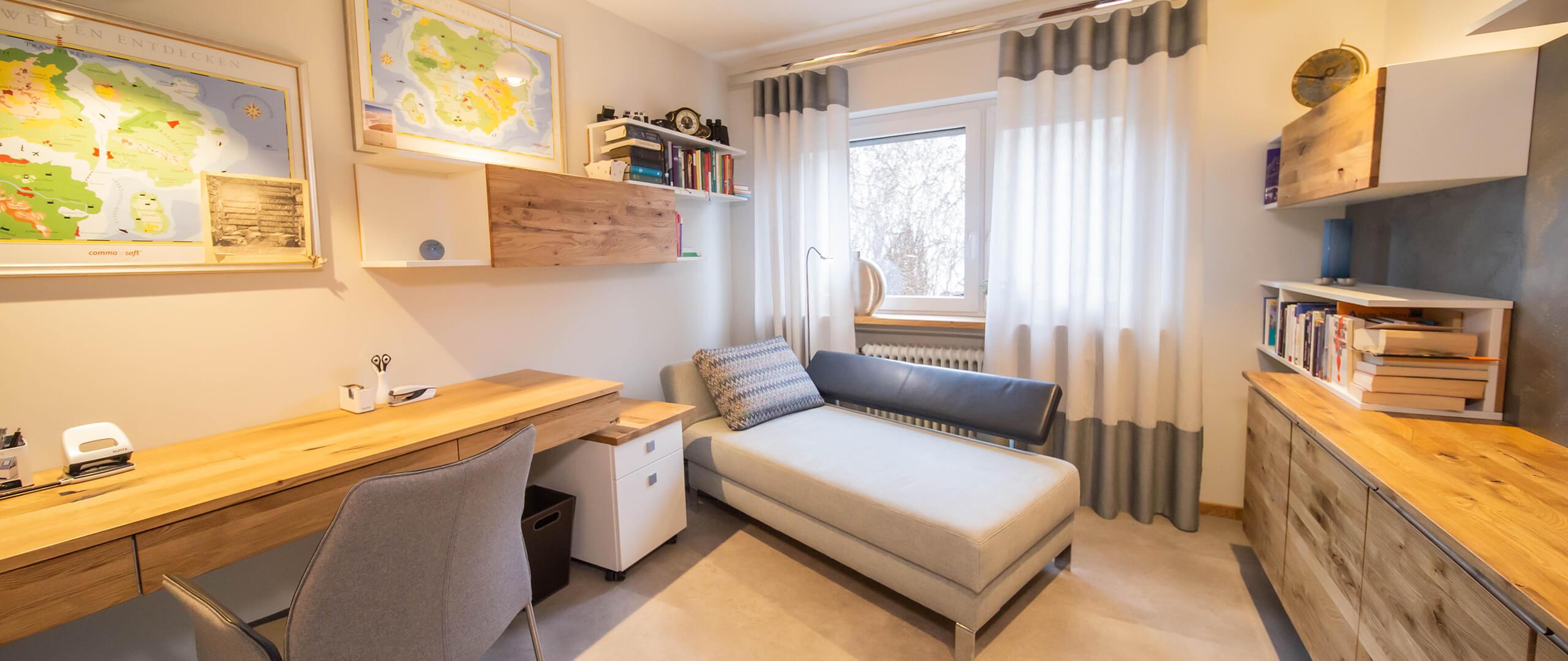Büro einrichten lassen | Raumausstatter | Möbelmanufaktur | Speyer
