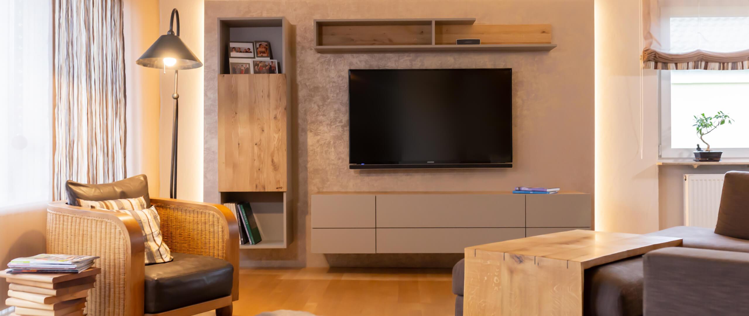 Wohnzimmer einrichten lassen | Raumausstatter | Möbelmanufaktur | Speyer