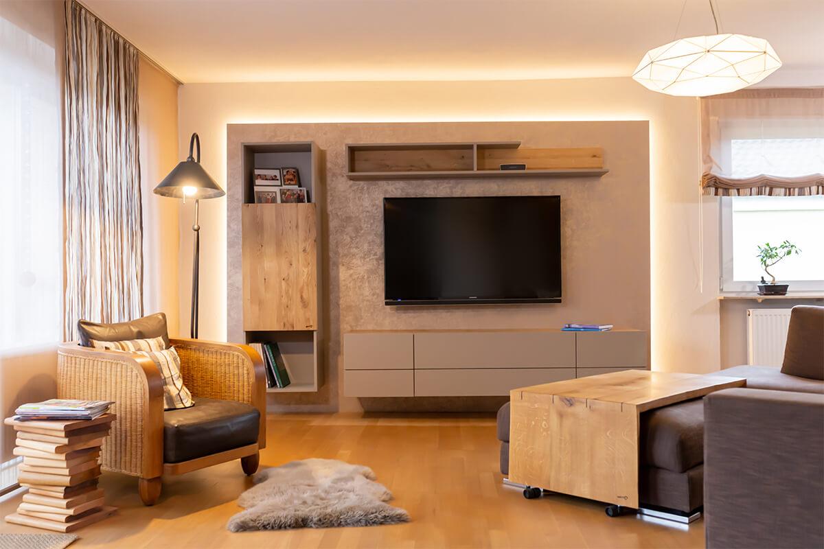 Möbelkreation & Raumgestaltung | Wohnzimmer