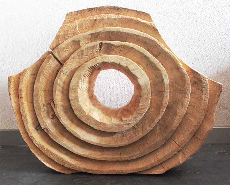 Holz-Objekt Sonne