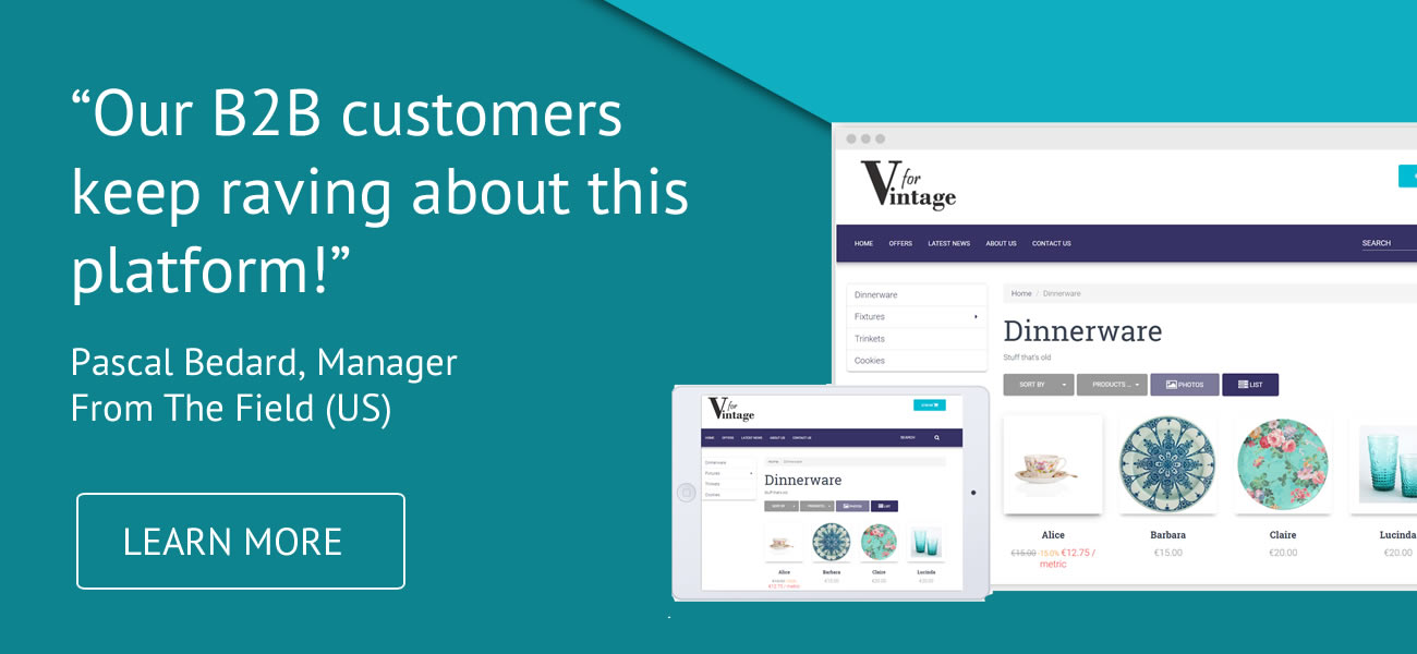 Our customers keep raving about this platform | B2B Wave