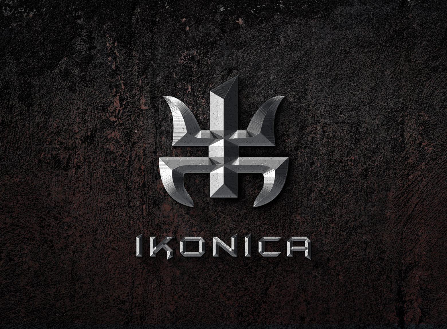 logotipo Ikonica por Switch Studio