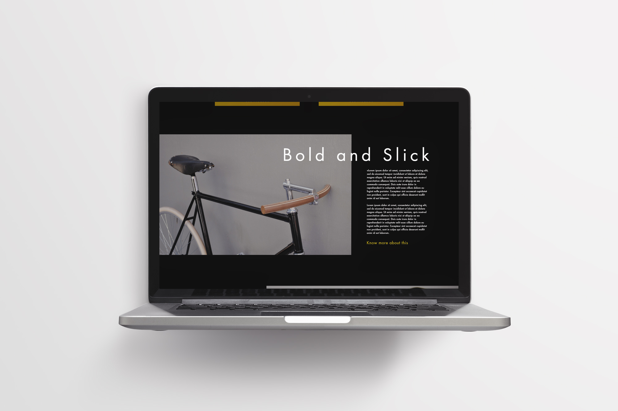 website mockup switch studio