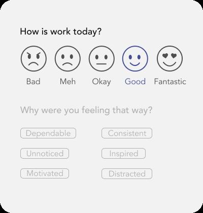 Career Daily Satisfaction Input