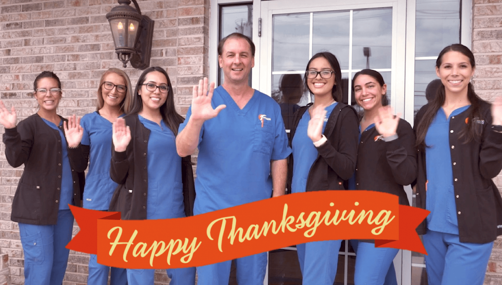 Happy Thanksgiving to All of Our Patients & Friends