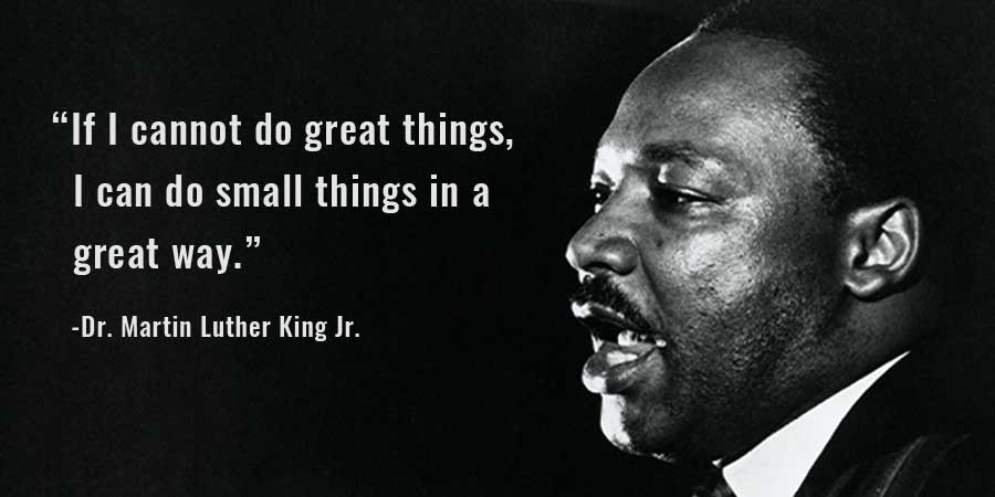 Happy Martin Luther King Jr. Day!