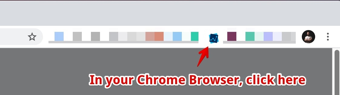 inlytics extension in chrome bowser