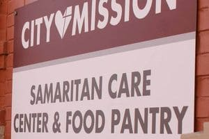 external view of the Samaritan Care Center at City Mission