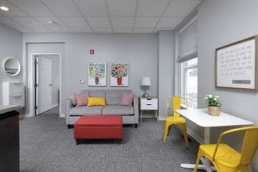 Common living room areas of the City Mission's new 'Women with Children' Center