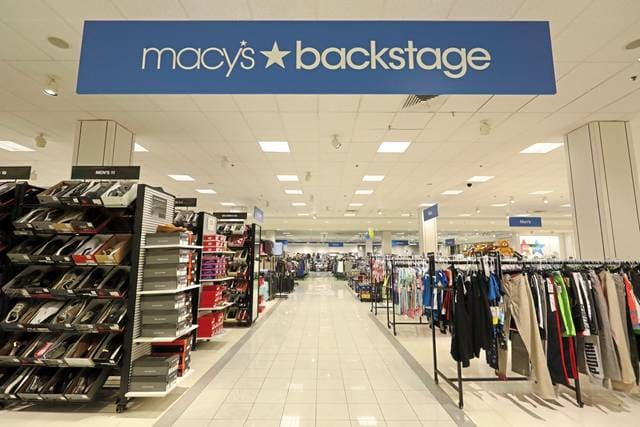 Macy's entrance at South Hills Village Mall