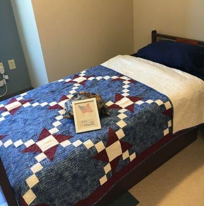 veterans house bed