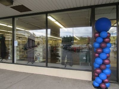 The exterior view of the brand new City Mission Thrift Store in Belle Vernon, PA