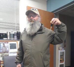 resident Randy with new keys