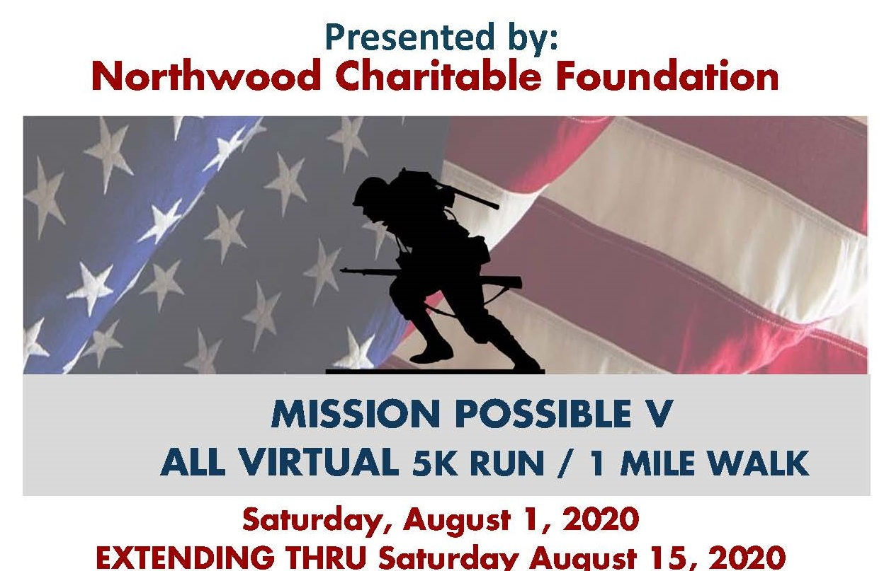 Fifth Annual Mission Possible Run/Walk Goes Virtual