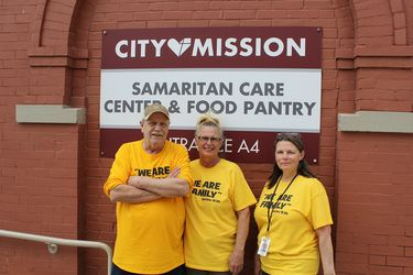 We Are Family. Sam Care staff and volunteers