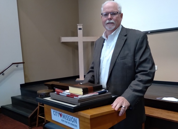 City Mission Chief Operating Officer, Brian Johansson