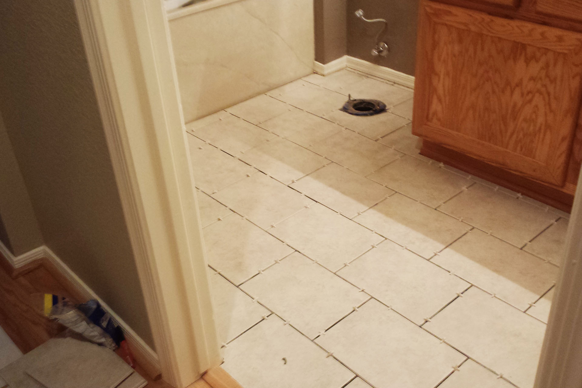 View Bathroom Tile Installation
