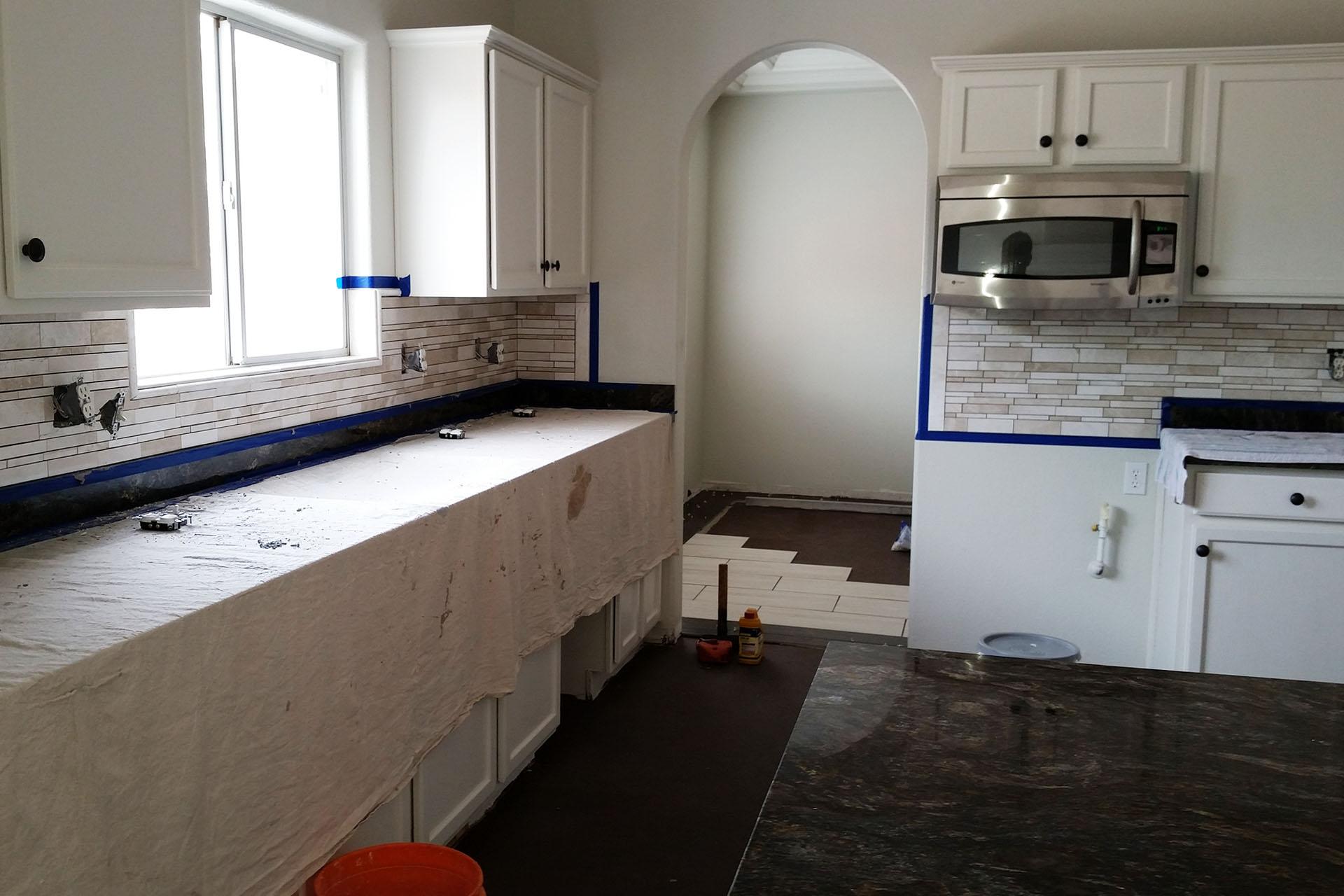 View Kitchen Tile Backsplash